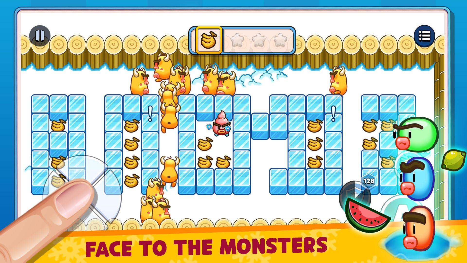 Fruit Ice Cream 2 - Ice cream war Maze Game captura de tela 1