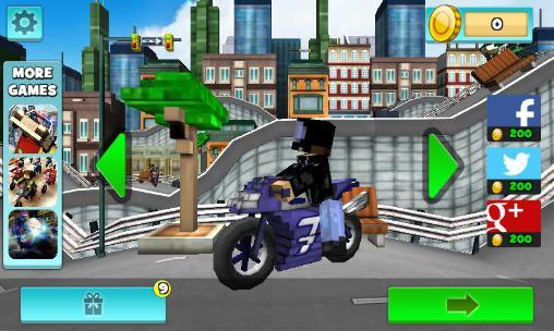 Arcade Top motorcycle climb racing 3D für das Smartphone