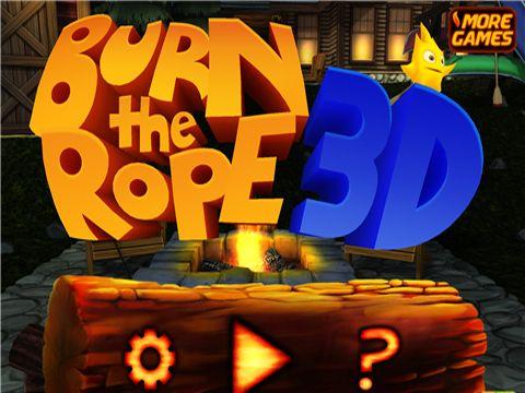 logo Brenne das Seil an 3D