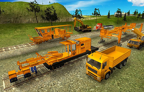 Railroad building simulator: Build railroads! для Android