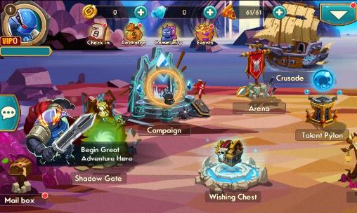 RPG-Spiele We heroes: Born to fight für das Smartphone