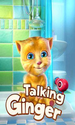 Talking Ginger captura de pantalla 1