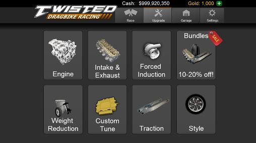 Twisted: Dragbike racing для Android