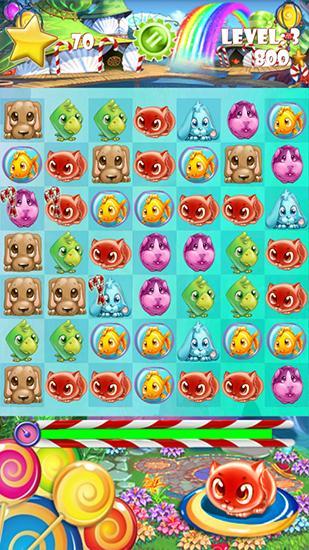 Candy pets скриншот 4