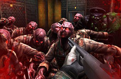 Kampf mit den Zombies auf Deutsch