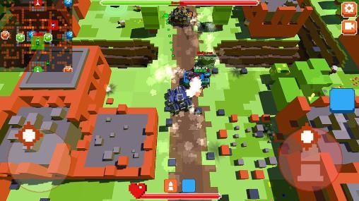 Simulator-Spiele War Boxes für das Smartphone