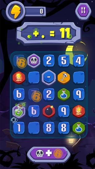 Arcade-Spiele Haunted numbers für das Smartphone