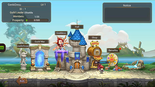 Genki heroes Screenshot
