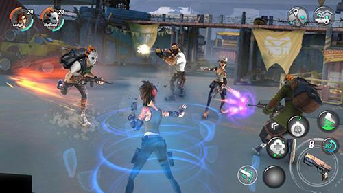 De tirs Dead rivals: Zombie MMO en français