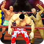 アイコン Men wrestling mania: Pro wrestler cheating manager