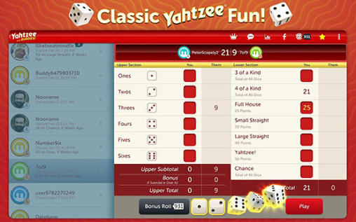 Yahtzee with buddies screenshot 2