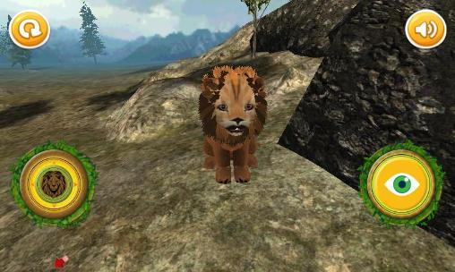 Real lion cub simulator für Android