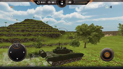 Simulation Tank simulator: Battlefront für das Smartphone