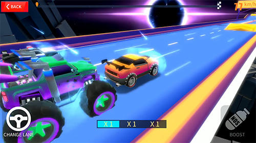 Blast racing für Android