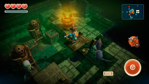 Oceanhorn: Monster of uncharted seas скриншот 1