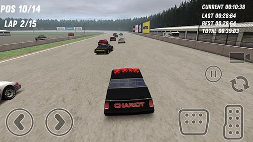 Thunder stock cars 2 captura de pantalla 1