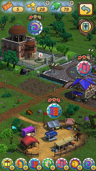 Mahjong village captura de pantalla 1