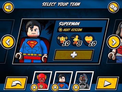 Action LEGO DC super heroes für das Smartphone