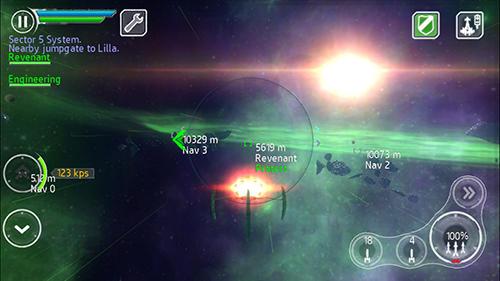Stellar wanderer screenshot 2