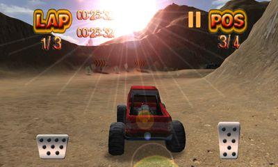 de courses Monster Wheels Offroad pour smartphone