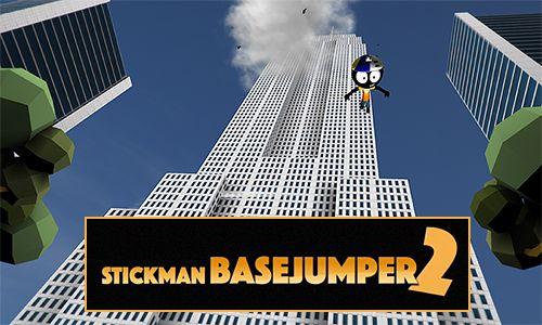 logo Stickman basejumper 2