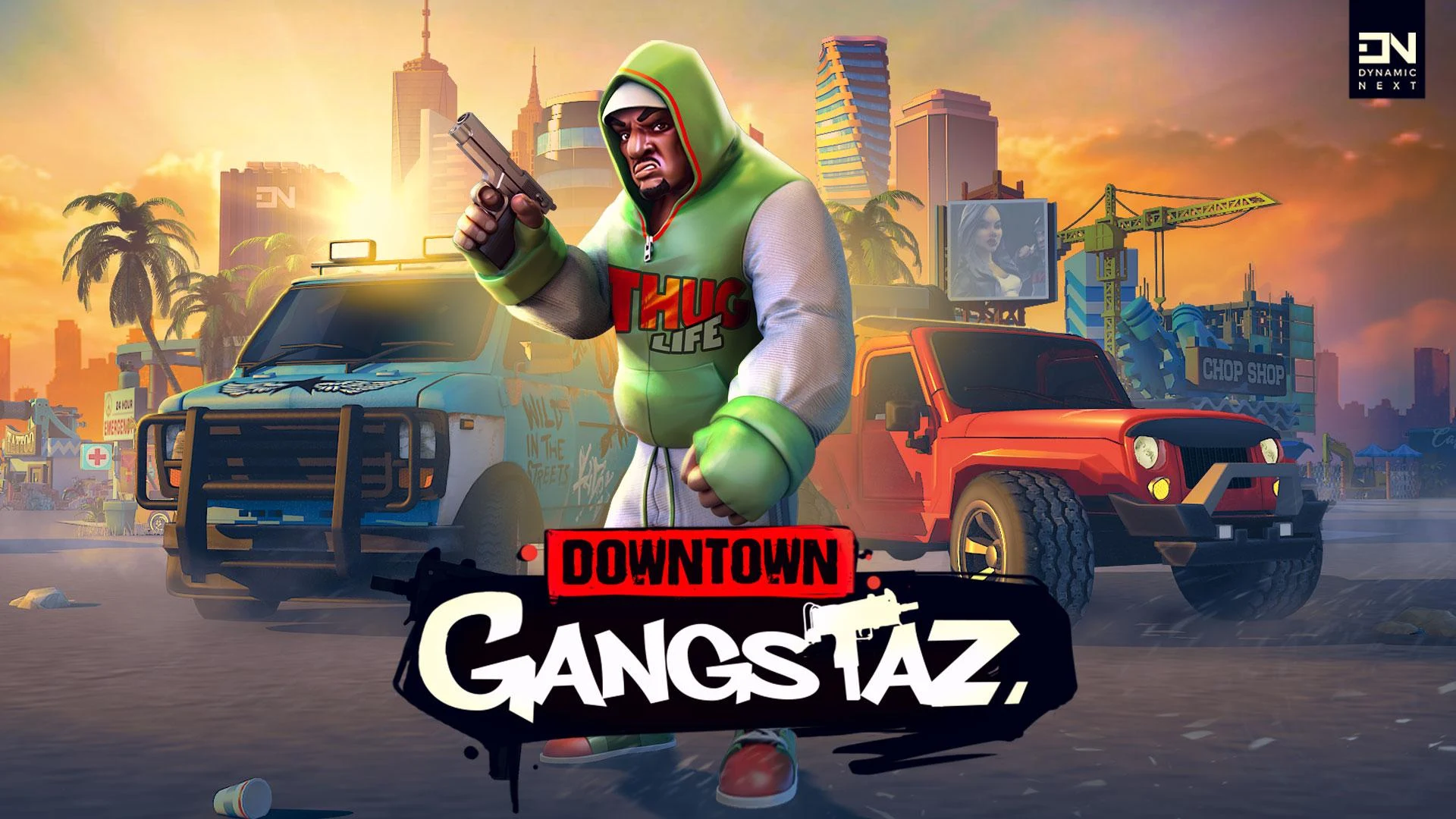 Downtown Gangstaz скриншот 1