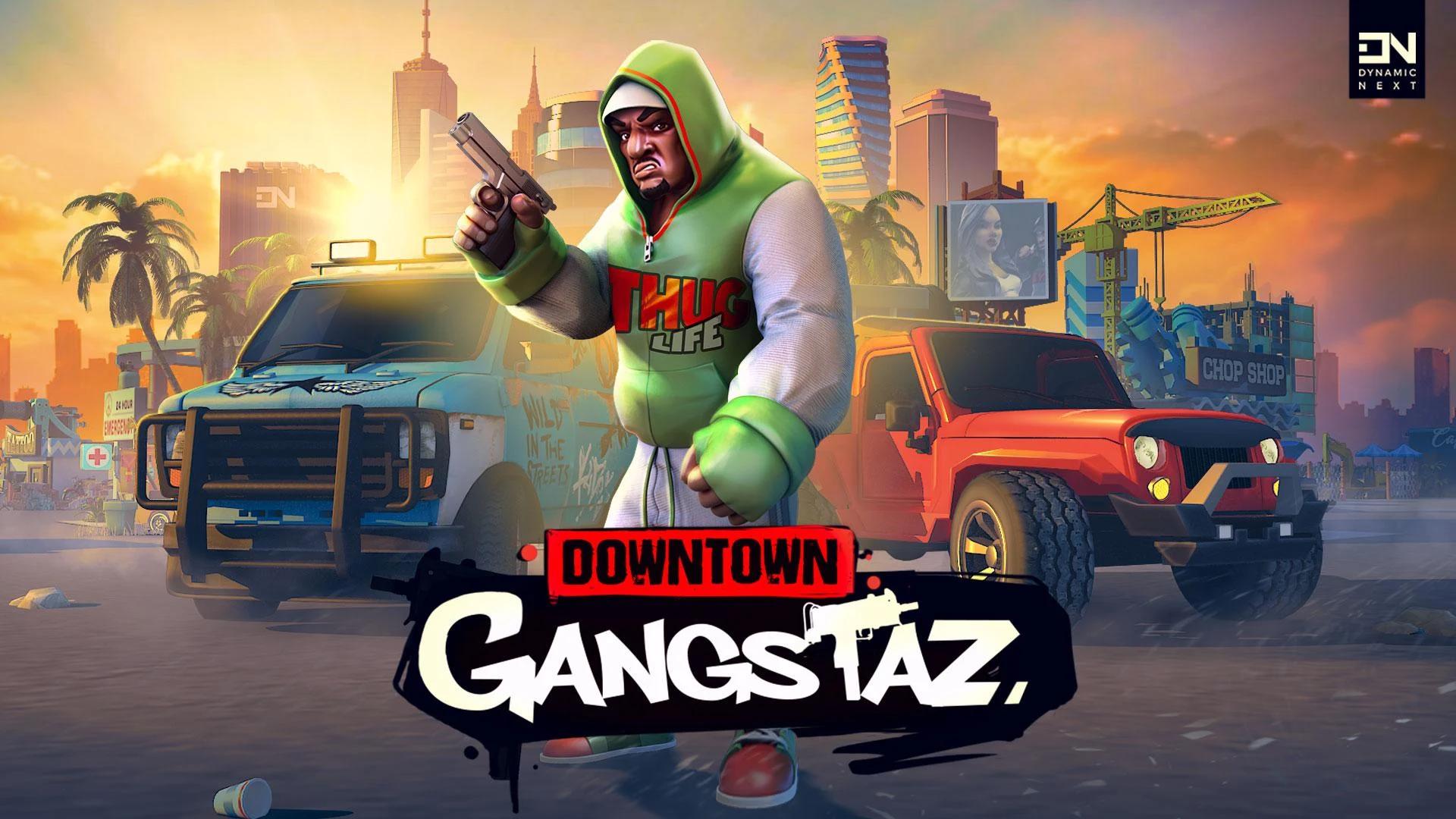 Downtown Gangstaz capture d'écran 1