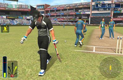 Simulator-Spiele: Lade Cricket-Weltmeisterschaftsfieber Deluxe auf dein Handy herunter