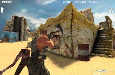 Zombie en el desierto. La última posición