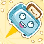 Toaster dash: Fun jumping game ícone