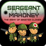 Sergeant Mahoney and the army of sinister clones Symbol