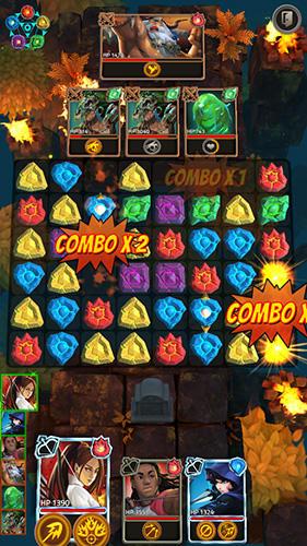 Arcade-Spiele Heroes of elements für das Smartphone