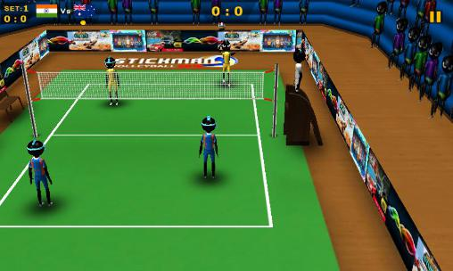 Stickman volleyball 2016 скриншот 3