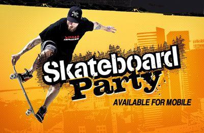 logo Mike V: die Skateboard Party