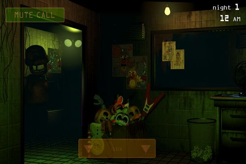 Captura de tela Cinco noites com Freddy 3 no iPhone