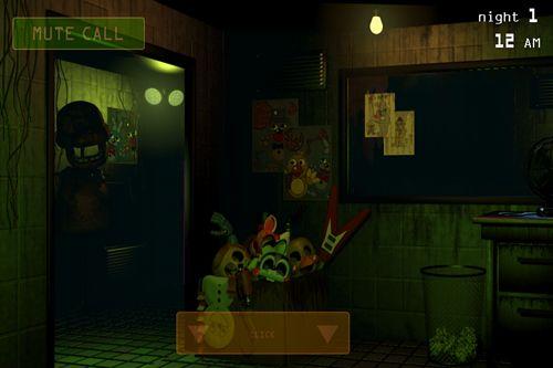 Скріншот Five nights at Freddy's 3 на iPhone