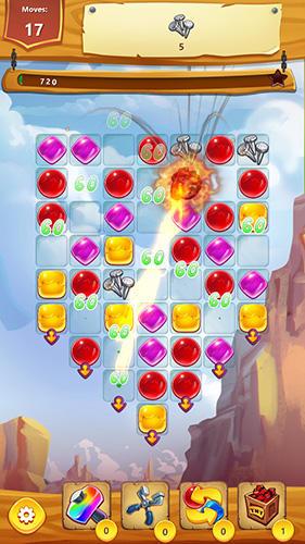 Wild West village: New match 3 city building game für Android