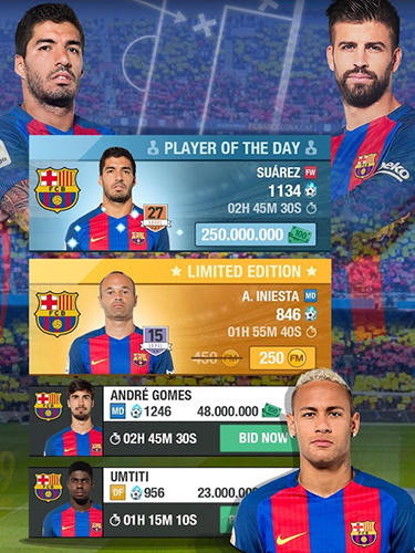 FC Barcelona fantasy manager 2017 für Android