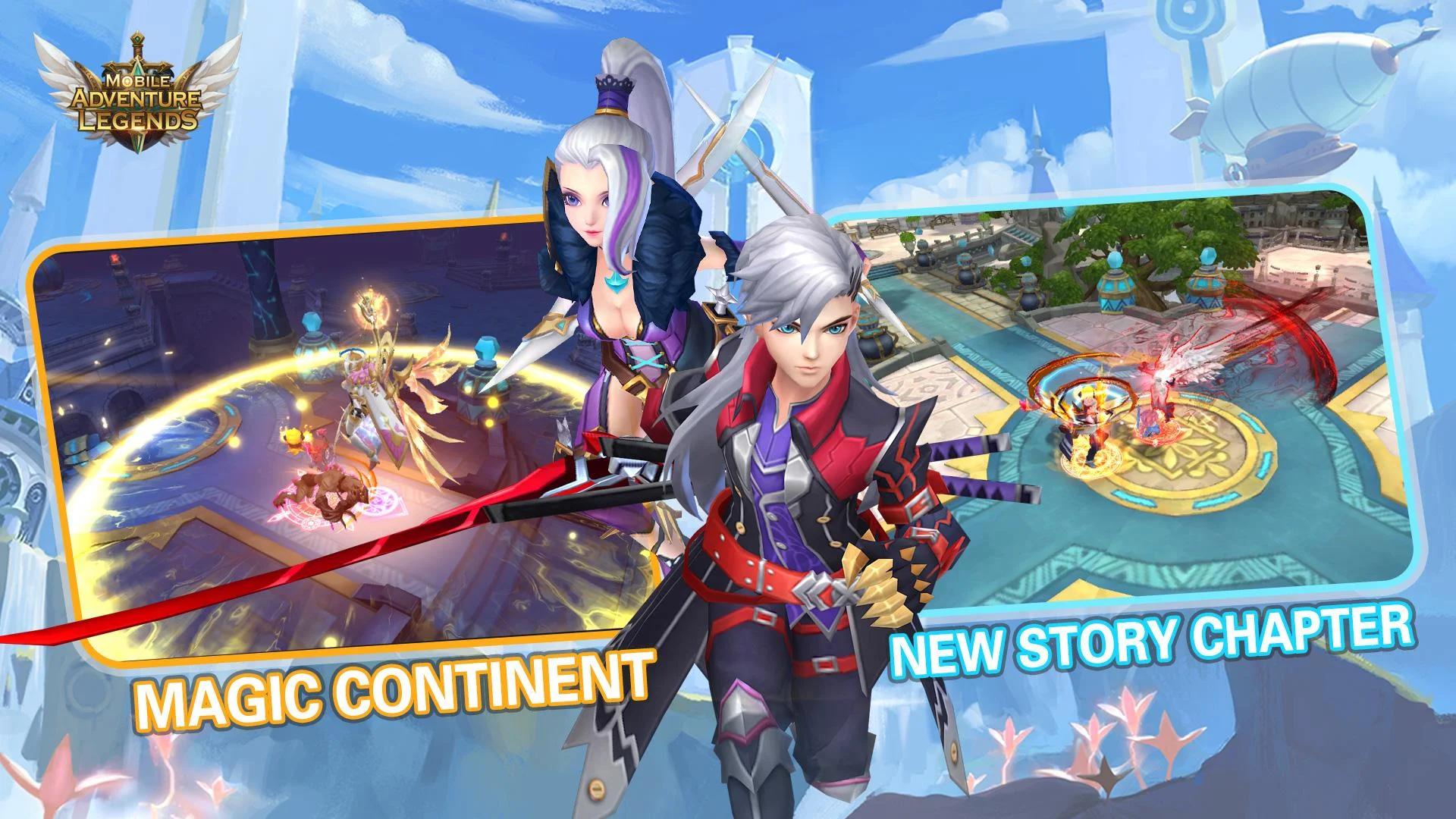 Adventure Legends M für Android