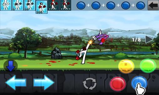 Jogos de Stikmen Anger of Stick 4: Reboot em portugues