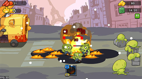 Zombie defense by DIVMOB pour Android