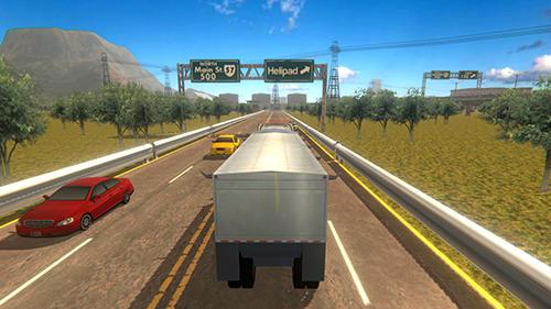 Simulation Truck simulator 2019 for smartphone