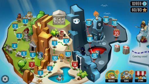 Strategiespiele OMG: TD! für das Smartphone