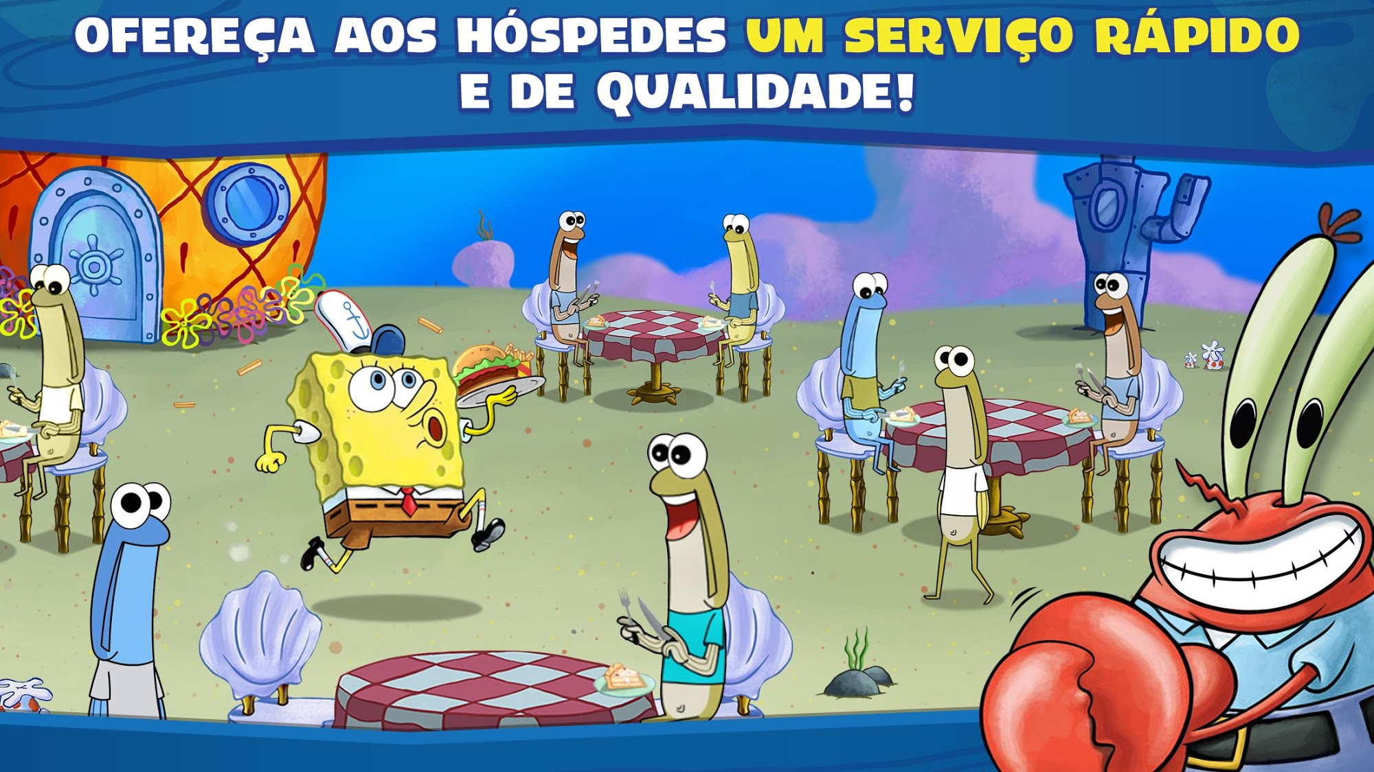 SpongeBob: Krusty Cook-Off para Android