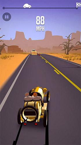 Скріншот Great race: Route 66 на iPhone