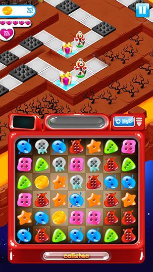Arcade-Spiele Calisteo für das Smartphone