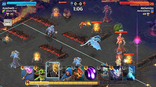 Arcane citadel: Duel of mages für Android