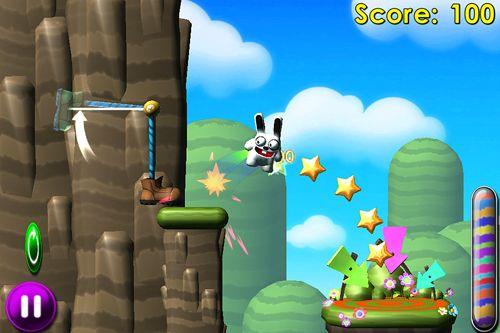 Salto del conejo en español