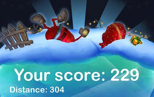 Arcade Happy Santa's runner für das Smartphone