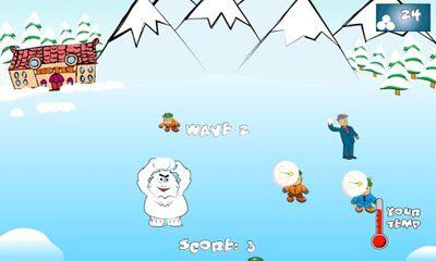 HD-Spiele SnowBall Fight Winter Game HD auf Deutsch